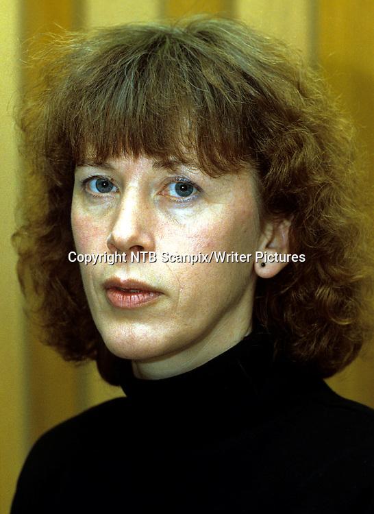 Oslo 19880111<br /> Forfatter Mari Osmundsen, tildelt Spr&Acirc;klig Samlings litteraturpris 1988.<br /> Foto: Inge Gjellesvik / NTB / Scanpix<br /> <br /> NTB Scanpix/Writer Pictures<br /> <br /> WORLD RIGHTS, DIRECT SALES ONLY, NO AGENCY