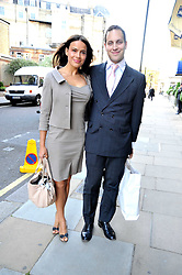 LORD FREDERICK WINDSOR and SOPHIE WINKLEMAN at a reception for the Castle of Mey held at the Goring Hotel, London on 19th May 2009.