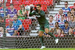 Adam Federici of Stoke City - Mandatory by-line: Robbie Stephenson/JMP - 25/07/2018 - FOOTBALL - Bet365 Stadium - Stoke-on-Trent, England - Stoke City v Wolverhampton Wanderers - Pre-season friendly
