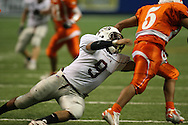 Corpus Christi Cal Allen vs. Laredo United, Saturday, 3:45PM,  Sept. 8, 2007, Toyota Tundra Texas Football Classic.  Ninth Annual Classic  brings a selection of some of the state's best programs, playing five games over three days at the Alamodome in San Antonio.