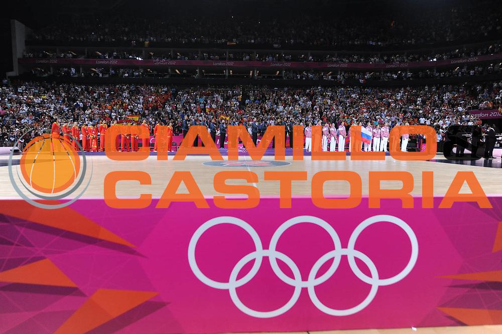 DESCRIZIONE : London Londra Olympic Games Olimpiadi 2012 Men Gold Medal Game Usa Spain Usa Spagna<br /> GIOCATORE : Podium<br /> CATEGORIA :<br /> SQUADRA : USA Spain Russia<br /> EVENTO : Olympic Games Olimpiadi 2012<br /> GARA : Usa Spain Usa Spagna<br /> DATA : 12/08/2012<br /> SPORT : Pallacanestro <br /> AUTORE : Agenzia Ciamillo-Castoria/M.Marchi<br /> Galleria : London Londra Olympic Games Olimpiadi 2012 <br /> Fotonotizia : London Londra Olympic Games Olimpiadi 2012 Men Gold Medal Game Usa Spagna Usa Spain<br /> Predefinita :