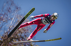 30.09.2018, Energie AG Skisprung Arena, Hinzenbach, AUT, FIS Ski Sprung, Sommer Grand Prix, Hinzenbach, im Bild Stefan Hula (POL) // Stefan Hula of Poland during FIS Ski Jumping Summer Grand Prix at the Energie AG Skisprung Arena, Hinzenbach, Austria on 2018/09/30. EXPA Pictures © 2018, PhotoCredit: EXPA/ Stefanie Oberhauser