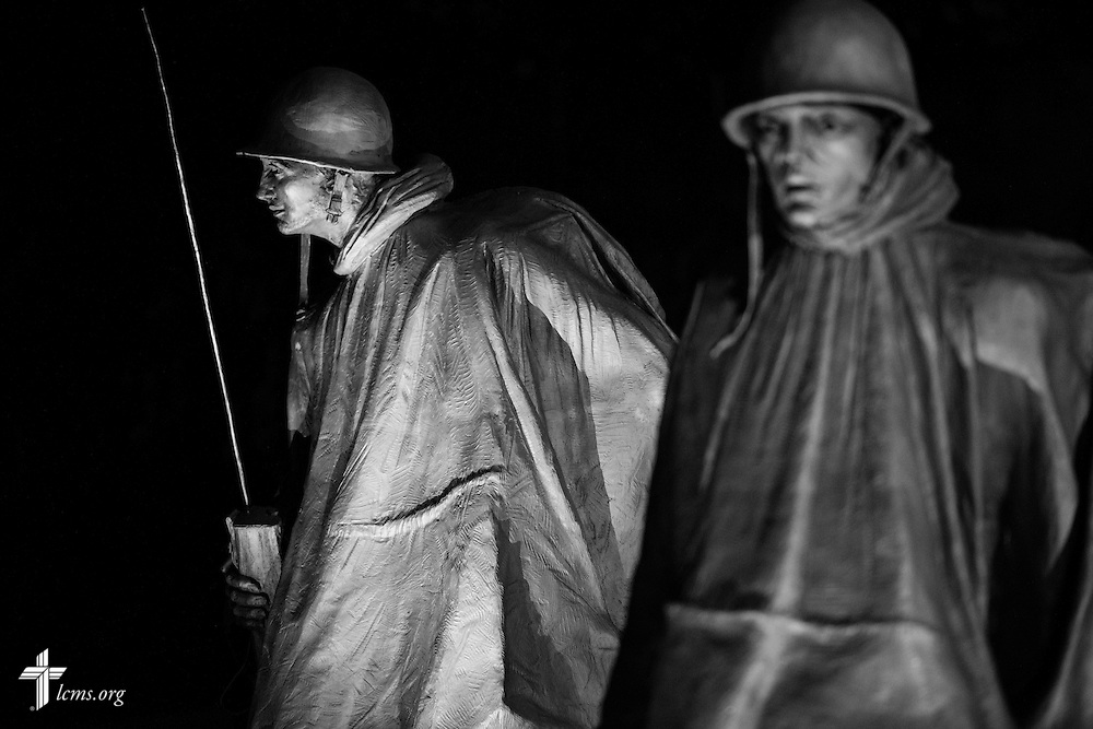 The Korean War Veterans Memorial on Wednesday, Sept. 9, 2015, in Washington, D.C. LCMS Communications/Erik M. Lunsford