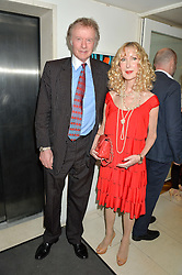 RICHARD & BASIA BRIGGS at a party hosted by Nancy Dell'Olio to celebrate the launch of Limonbello held at The Club at The Ivy, 9 West Street, London on 20th July 2016.
