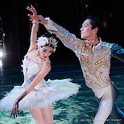 Misa Kuranaga and Jeffrey Cirio in Mikko Nissinen's 'Swan Lake' for Boston Ballet