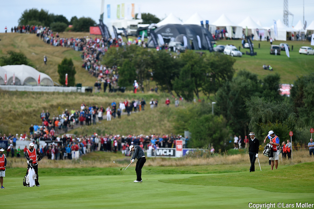 DK Caption:<br /> 20140815, Aars, Danmark:<br /> Made in Denmark Golf. 2. runde:<br /> Foto: Lars M&oslash;ller<br /> UK Caption:<br /> 20140815, Aars, Denmark:<br /> Made in Denmark Golf.  2nd round:<br /> Photo: Lars Moeller