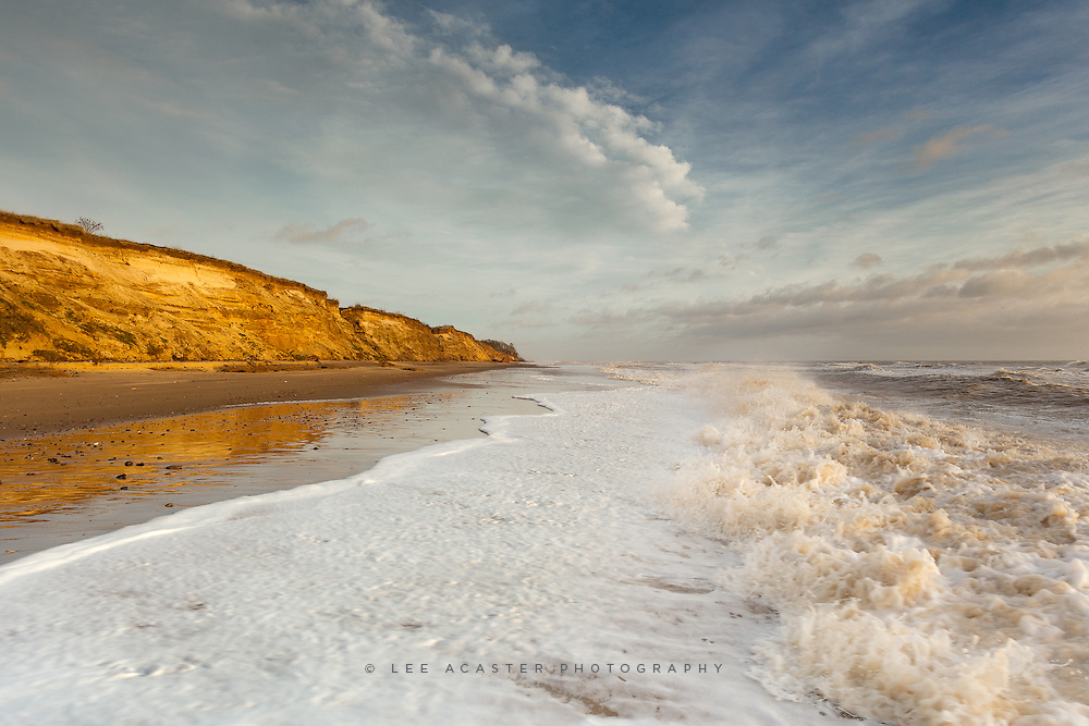 From a wander along the beach between Covehithe and Benacre yesterday morning.