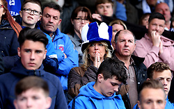 Hartlepool United fans look dejected after their side are relegated from Sky Bet League Two and The EFL - Mandatory by-line: Robbie Stephenson/JMP - 06/05/2017 - FOOTBALL - The Northern Gas and Power Stadium (Victoria Park) - Hartlepool, England - Hartlepool United v Doncaster Rovers - Sky Bet League Two