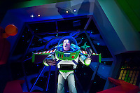 Buzz Lightyear's Space Ranger Spin ride, Magic Kingdom, Walt Disney World, Orlando, Florida USA