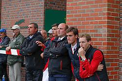 Team Belgium: Philippaerts Ludo, Philippaerts Nicola, Knops Simon, Philippaerts Olivier, Devos Pieter<br /> BMO Nations Cup<br /> CSIO Spruce Meadows - Calgary 2013<br /> © Dirk Caremans