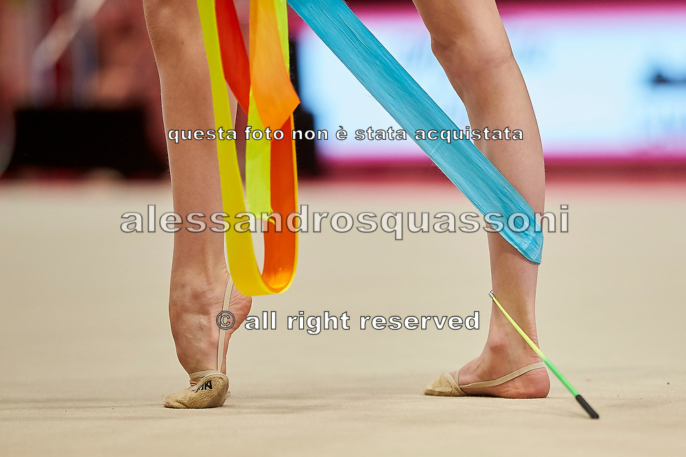 Sara Rocca from Raffaello Motto team during the Italian Rhythmic Gymnastics Championship in Bologna, 9 February 2019.