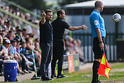 Forest Green Rovers manager, Mark Cooper during the EFL Sky Bet League 2 match between Forest Green Rovers and Cambridge United at the New Lawn, Forest Green, United Kingdom on 22 April 2019.