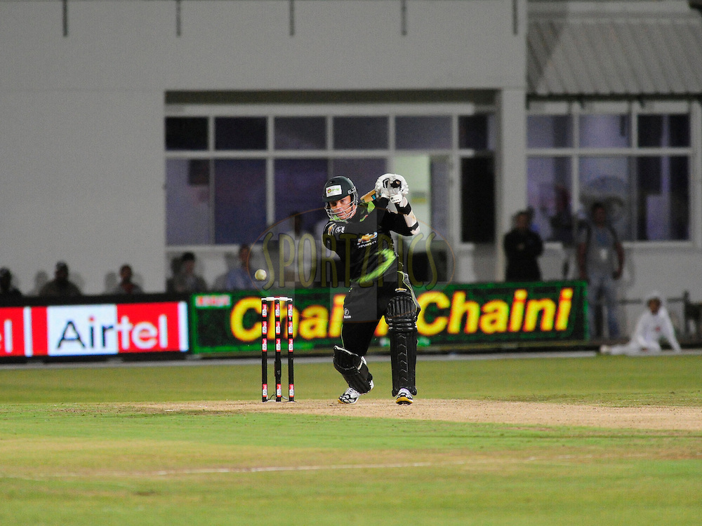 Johan Botha during match 6 of the Airtel CLT20 between The Warriors and The Victorian Bushrangers held at St Georges Park in Port Elizabeth on the 13 September 2010..Photo by: Deryck Foster/SPORTZPICS/CLT20
