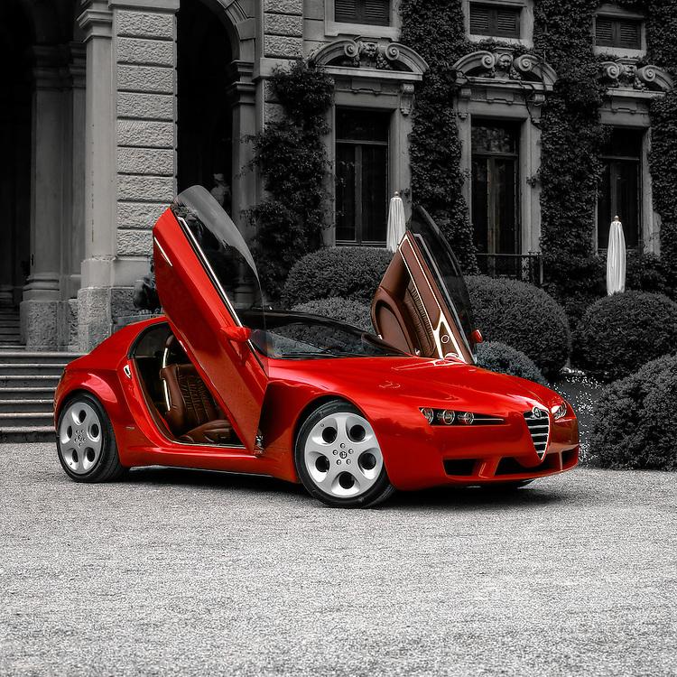 Alfa Romeo Brera Concept car by Giugiaro