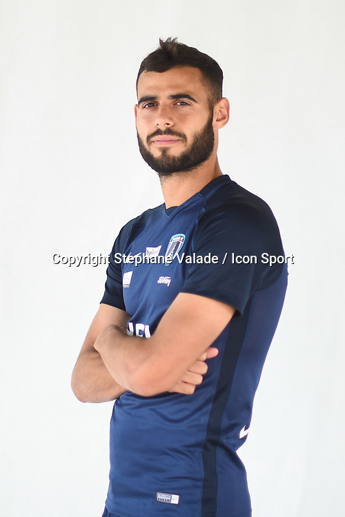 Rayane Aabid during photoshooting of Paris FC for new season 2017/2018 on October 17, 2017 in Paris, France<br /> Photo : Stephane Valade / Icon Sport