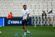 Chelsea Manager Frank Lampard coming onto the pitch during the Chelsea Training session ahead of the 2019 UEFA Super Cup Final between Liverpool FC and Chelsea FC at BJK Vodafone Park, Istanbul, Turkey on 13 August 2019.