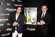 Ralph Simons, U.S. President of Frederique Constant / Alpina watches and actor Kevin Zegers