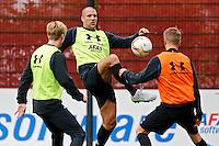 ALKMAAR - 20-10-2015, training Ron Vlaar, AFAS Stadion,
