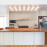 Residential kitchen island.<br />