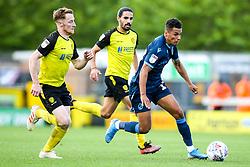 Jonson Clarke-Harris of Bristol Rovers goes past Stephen Quinn of Burton Albion - Mandatory by-line: Robbie Stephenson/JMP - 31/08/2019 - FOOTBALL - Pirelli Stadium - Burton upon Trent, England - Burton Albion v Bristol Rovers - Sky Bet League One