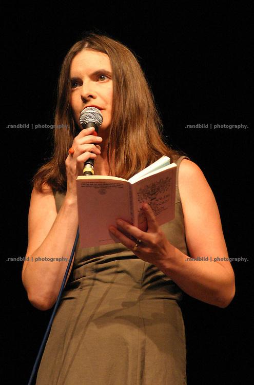 Schauspielerin und Moderatorin Kerstin Wittstamm während der Eröffungsveranstaltung Wellvita in Hitzacker