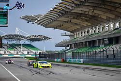 February 24, 2019 - Sepang, Malaisie - 11 CAR GUY (JPN) FERRARI 488 GT3 GT TAKESHI KIMURA (JPN) KEI COZZOLINO (JPN) JAMES CALADO (GBR) WINNER GT (Credit Image: © Panoramic via ZUMA Press)