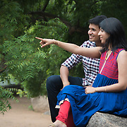 Deepika & Yamu candid wedding shoot in chennai- Mahabalipuram<br />