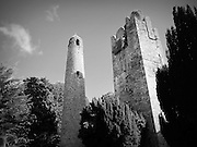 Swords Round Tower & Belfrey, Swords,  Dublin ñ c.10th & c.14th