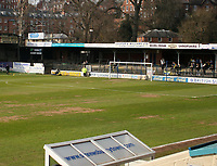 Photo: Mark Stephenson.<br />Shrewsbury Town v Torquay United. Coca Cola League 2. 24/03/2007. Shrewsbury Town's Gay Meadow ground is being knocked down at the end of the season and they are moving to a new 10 million pound stadium