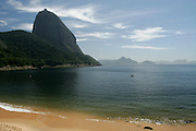 Rio de Janeiro_RJ, Brasil...Praia Vermelha no bairro da Urca no Rio de Janeiro...Praia Vermelha in Urca neighborhood in Rio de Janeiro...Foto: MARCUS DESIMONI / NITRO....