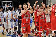 DESCRIZIONE : Beko Legabasket Serie A 2015- 2016 Playoff Quarti di Finale Gara3 Dinamo Banco di Sardegna Sassari - Grissin Bon Reggio Emilia<br /> GIOCATORE : Rimantas Kaukenas<br /> CATEGORIA : Postgame Ritratto Esultanza<br /> SQUADRA : Grissin Bon Reggio Emilia<br /> EVENTO : Beko Legabasket Serie A 2015-2016 Playoff<br /> GARA : Quarti di Finale Gara3 Dinamo Banco di Sardegna Sassari - Grissin Bon Reggio Emilia<br /> DATA : 11/05/2016<br /> SPORT : Pallacanestro <br /> AUTORE : Agenzia Ciamillo-Castoria/C.Atzori