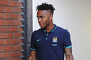 Raheem Sterling was present with the team despite not being in the squad during the Barclays Premier League match between Crystal Palace and Manchester City at Selhurst Park, London, England on 12 September 2015. Photo by Michael Hulf.