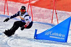 GABEL Keith, SB-LL2, USA, Snowboard Cross at the WPSB_2019 Para Snowboard World Cup, La Molina, Spain