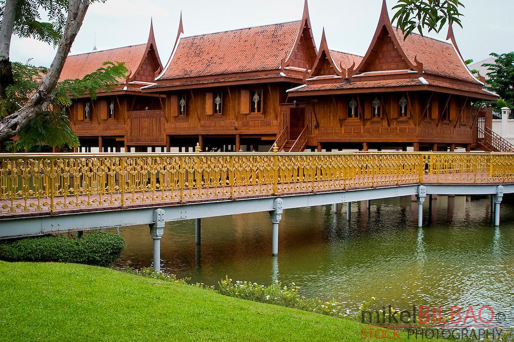 Vimanmek Palace.  Dusit Palace. Bangkok, Thailand.
