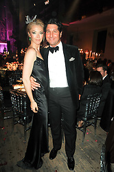 TAMARA BECKWITH and GEORGIO VERONI at 'Superficial Butterfly' a party hosted by Amanda Eliasch to celebrate her 50th birthday held at Number One Mayfair (St Marks Church) North Audley Street, London on 12th May 2010.