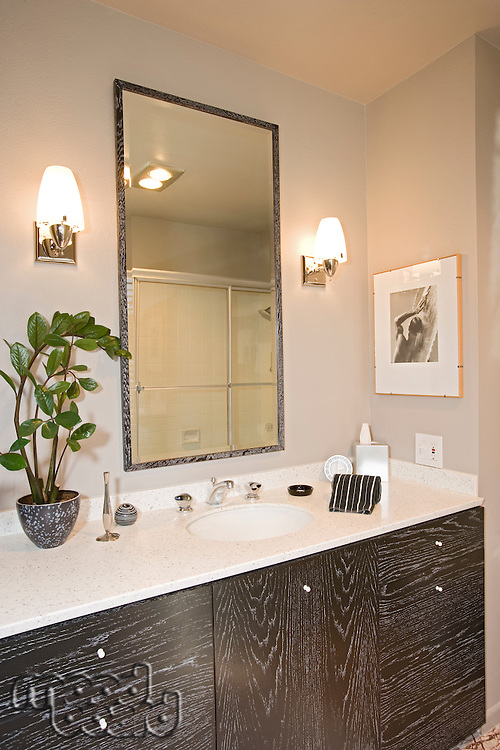 Luxury interior design bathroom