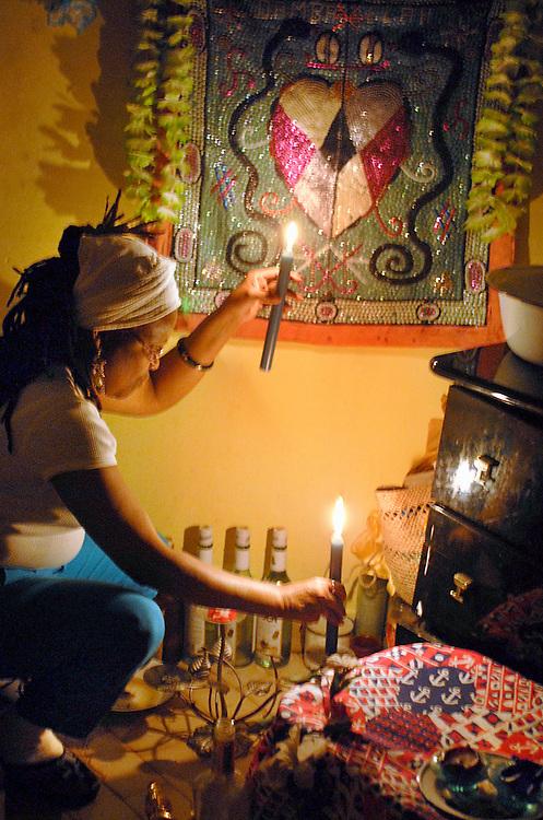 Chandeleur illumination, Haitien community, Montreal