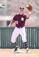 March 29, 2014: The McMurry University War Hawks play against the Oklahoma Christian University Eagles at Dobson Field on the campus of Oklahoma Christian University.