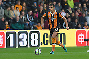 Hull City midfielder Jake Livermore (14) during the Premier League match between Hull City and Stoke City at the KCOM Stadium, Kingston upon Hull, England on 22 October 2016. Photo by Ian Lyall.