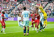 16-08-2017: Voetbal: FC Utrecht v Zenit Sint Petersburg: Utrecht<br /> <br /> (L-R) Spelmoment tijdens duel in voorronde Europa League tussen FC Utrecht en FK Zenit St Petersburg op 16 augustus in stadion Galgenwaard in Utrecht<br /> <br /> Voorronde Europa League (UEFA) - Seizoen 2017 / 2018<br /> <br /> Foto: Gertjan Kooij