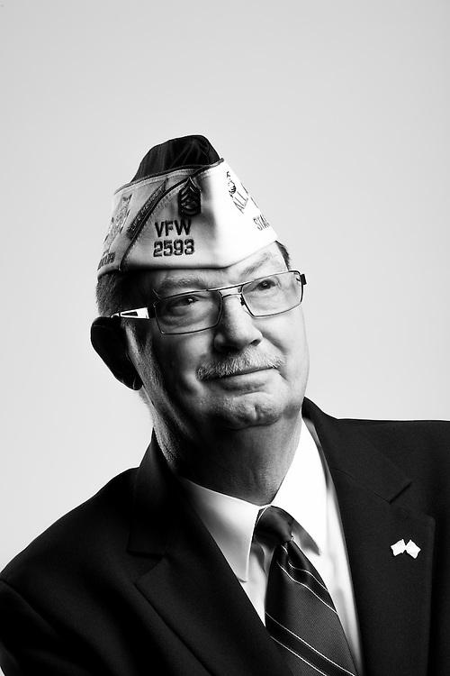 Phillip Pippins<br /> Marine Corps<br /> E-7<br /> Infantry<br /> 1963 - 1977<br /> Vietnam<br /> <br /> Veterans Portrait Project<br /> St. Louis, MO