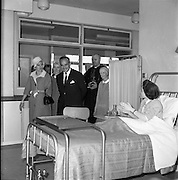 13/06/1961<br /> 06/13/1961<br /> 13 June 1961<br /> Royal Visit to Ireland by Princess Grace and Prince Rainier of Monaco. The royal couple pay a visit to Our Lady of Lourdes Hospital, Drogheda. Mother Mary Martin a great Irishwoman