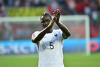 Deception Mamadou SAKHO - 13.06.2015 - Albanie / France - Match Amical - Tirana<br />