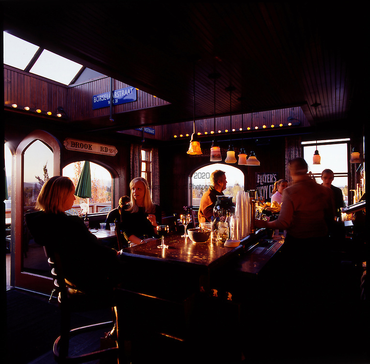 http://www.mcmenamins.com/ The Rooftop Bar at the McMenamins Hotel Oregon in McMinnville, Oregon