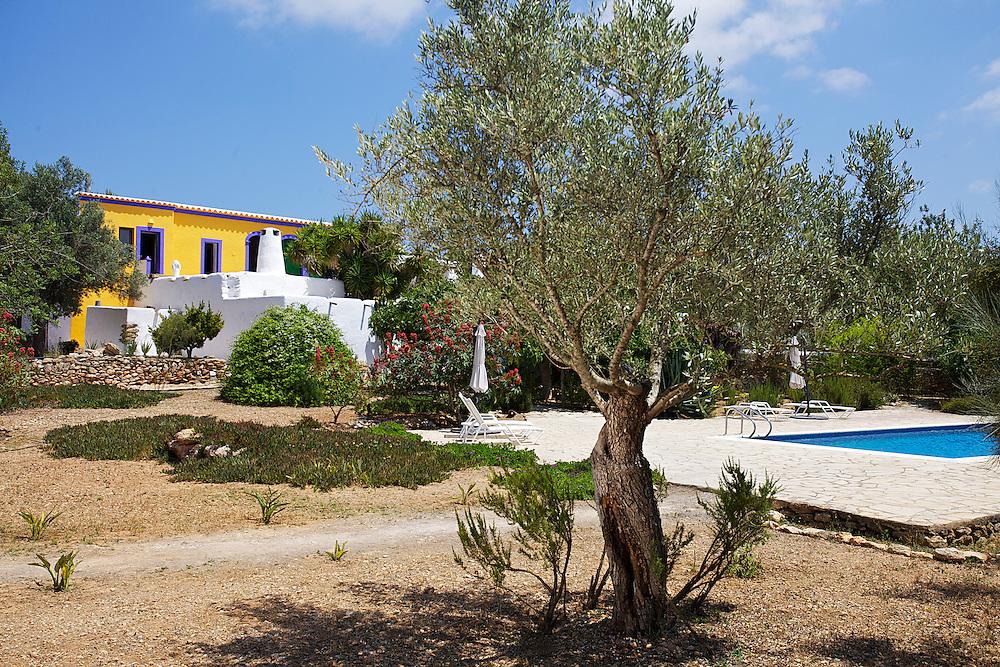 03/Julio/2013 Ibiza. Sant Joan<br /> Agroturismo Ca n'Escandell. <br /> Jard&iacute;n y piscina<br /> <br /> &copy;&nbsp;JOAN COSTA
