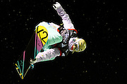 Gretchen Bleiler competes in the U.S. Snowboarding Grand Prix finals, Friday, Jan. 22, 2010, in Park City, Utah. (AP Photo/Colin E Braley)