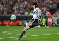 20120327: LISBON, PORTUGAL - Champions League 2011/2012 - Quarter-finals, First leg: SL Benfica vs Chelsea.<br /> In picture: Chelsea's Petr ÄŒech, from Czech Republic.<br /> PHOTO: Alvaro Isidoro/CITYFILES