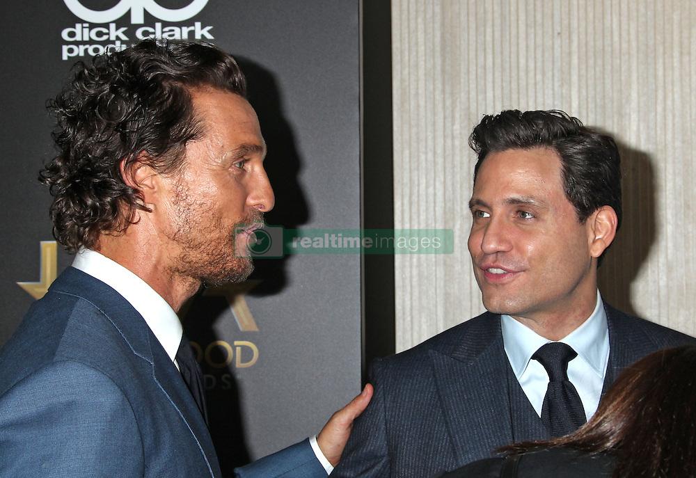 Matthew McConaughey, Edgar Ramirez, The 20th Annual Hollywood Film Awards at the Beverly Hilton Hotel (Beverly Hills, CA.)