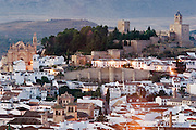View of the town of Antequera. Malaga province, Andalusia, Spain.