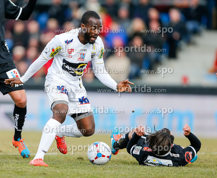 28.02.2015, Cashpoint Arena, Altach, AUT, 1. FBL, SCR Altach vs RZ Pellets WAC, 22. Runde, im Bild Louis Clement Ngwat Mahop, (SCR Altach, #29)// during Austrian Football Bundesliga Match, 22th round, between SCR Altach vs RZ Pellets WAC at the Cashpoint Arena, Altach, Austria on 2015/02/28. EXPA Pictures © 2015, PhotoCredit: EXPA/ Peter Rinderer